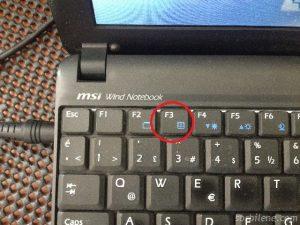 1 MSI U100 netbook, Format