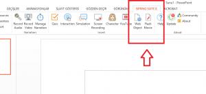 PowerPoint dosyalarını Flash, HTML5 ve video formatına cevirme