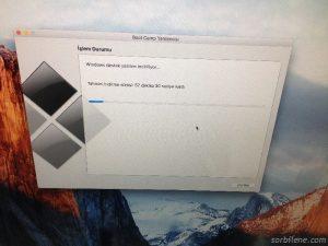 apple bilgisayara windows yükleme