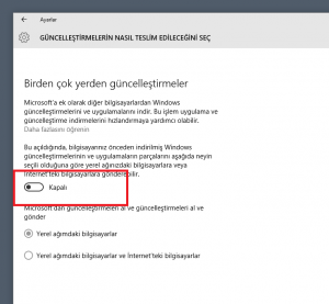 4 windows 10 guncelleme kapat engelle