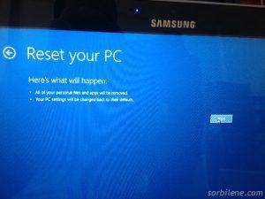 6 Samsung Ativ 500T Tablet yeniden kurma
