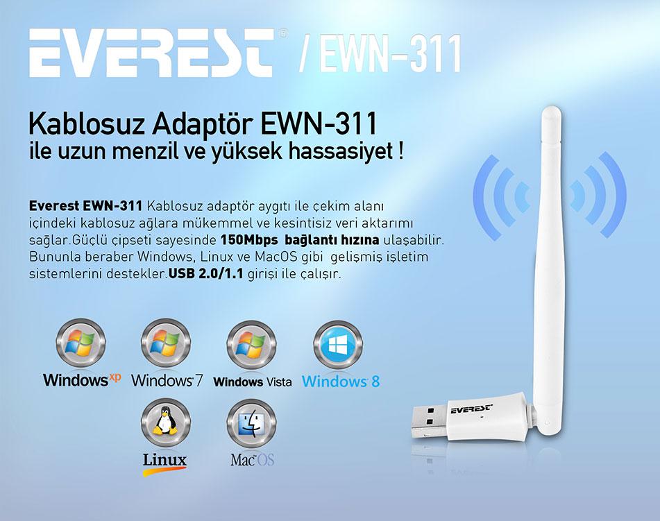 everest ewn-710 driver indir